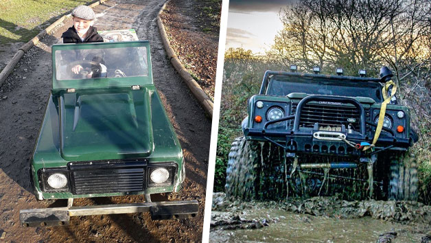 Off-road Driving Experience for One Adult and One Child