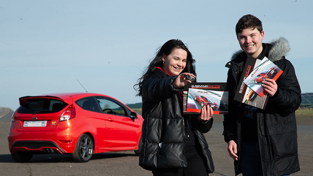 Under 17s 30 Minute Junior Driving Experience for One