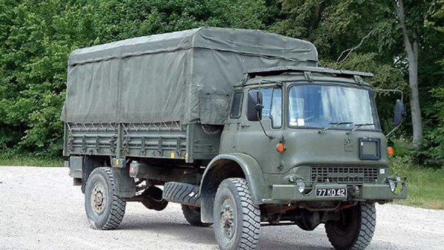 Bedford MJ Military Vehicle Passenger Ride for One