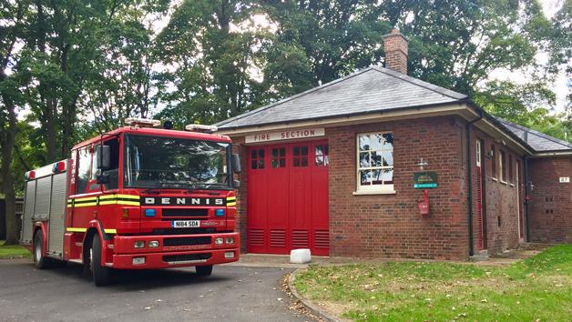 Dennis Sabre XL Fire Engine Passenger Ride for One