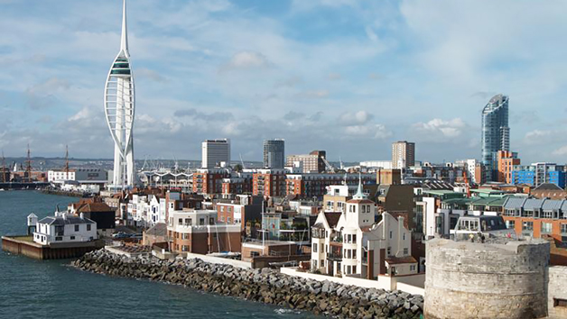 30 Minute Towers, Portsmouth City and Tall Ships Helicopter Experience for Two