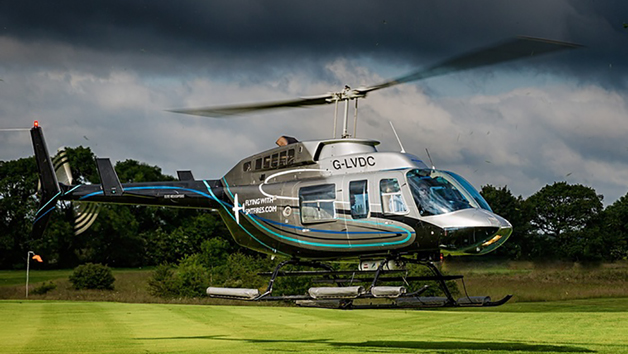 10 Minute Goodwood Helicopter Flight for Two