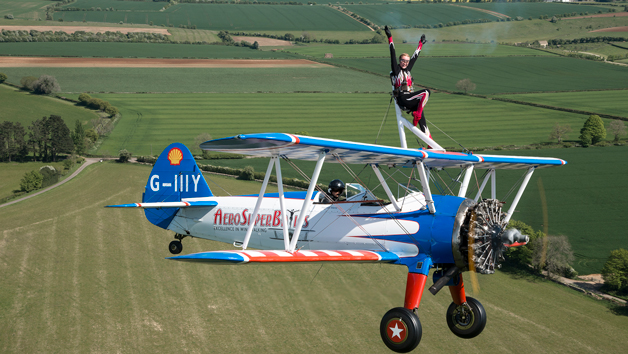 Wingwalking Experience in Gloucestershire for One