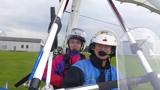 30 Minute Flight in a Flex Wing Microlight at Wanafly Airsports for One