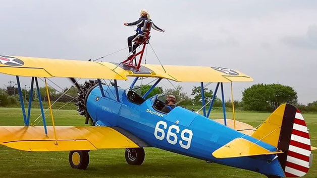 Wing Walking Experience with Skymax for One