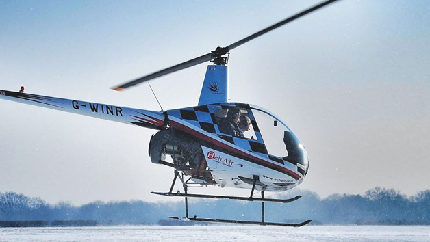 60 Minute Helicopter Flying Lesson at Heli Air for One