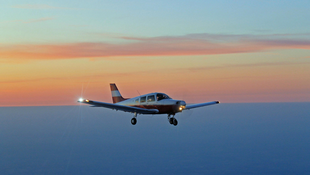 Isle of Wight Land Away Flying Experience and Tea for Two