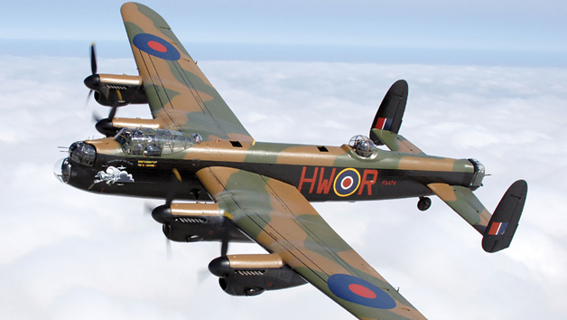 One Hour Lancaster Bomber Flight Simulator Experience for One at Perry Air