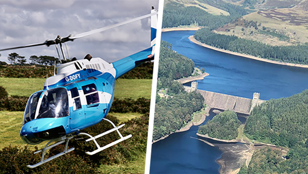 Six Mile Helicopter Ride and Hike with Lunch or Cream Tea for Two