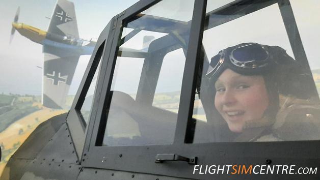 Messerschmitt Bf 109K 30 Minute Flight Simulator Experience for One Person