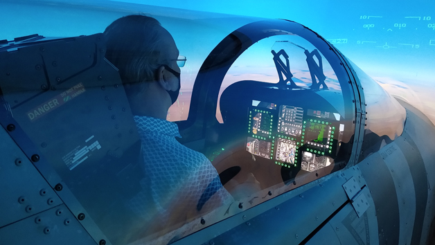 Top Gun Fighter Jet Flight Simulator Experience for One Person