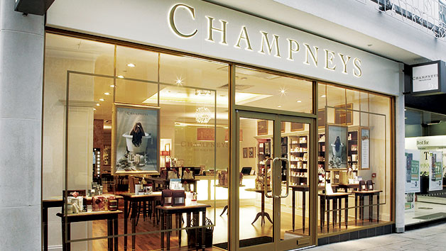 Champneys City Spa Swedish Back Massage with a Facial or Express Manicure for One