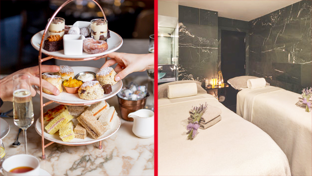 Spa Day with Treatment and Afternoon Tea at Edwardian Radisson Collection Spas for Two