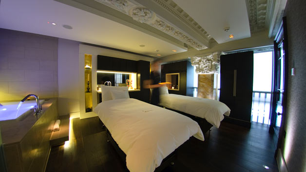 Spa Experience with 50 Minutes of Treatments and Two Course Meal at Sofitel London St James for Two