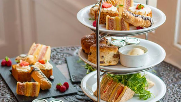 Spa Day with 55 Minute Spa Treatment and Afternoon Tea for Two at Ruthin Castle Hotel and Spa