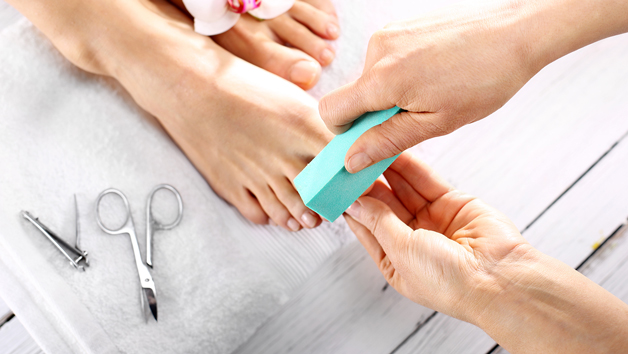 Express Manicure and Pedicure at Verulamium Spa for One