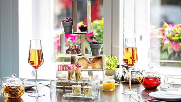 Botanical Afternoon Tea at London Marriott Hotel Park Lane for Two