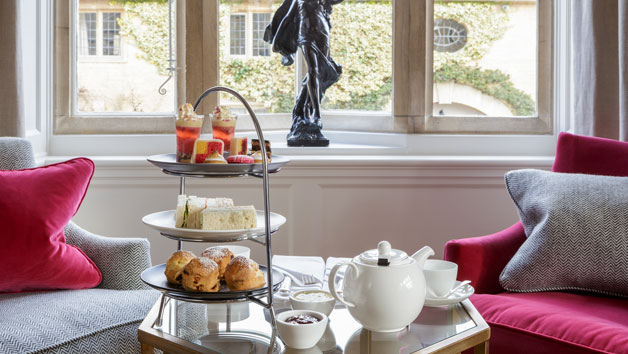 Champagne Afternoon Tea at The Slaughters Manor House for Two