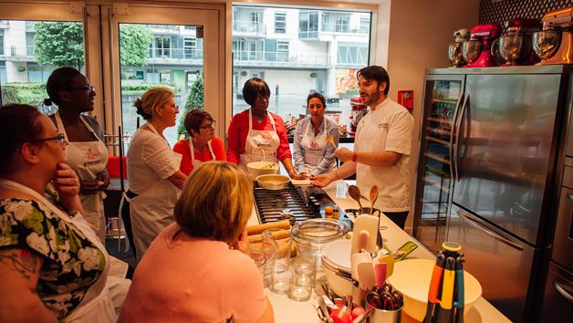 Baking Masterclass with Eric Lanlard at Cake Boy