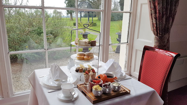Champagne Afternoon Tea at the Haughton Hall Hotel and Leisure Club for Two
