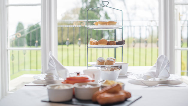 Luxury Spa Day with Afternoon Tea at Haughton Hall Hotel and Leisure Club for Two
