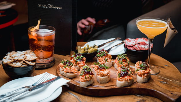 Cocktails and Nibbles at MAP Maison for Two – Special Offer