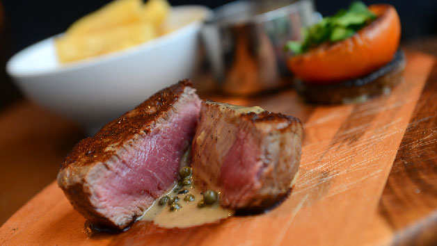 Three Course Meal with a Glass of Wine for Two at The Granary Hotel
