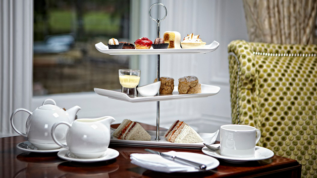 Brasserie Prosecco Afternoon Tea at Wivenhoe House for Two
