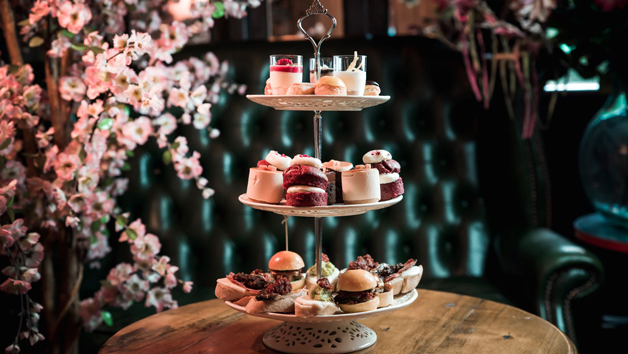 Tapas Style Afternoon Tea with Bottomless Cocktails and Prosecco for Two at MAP Maison