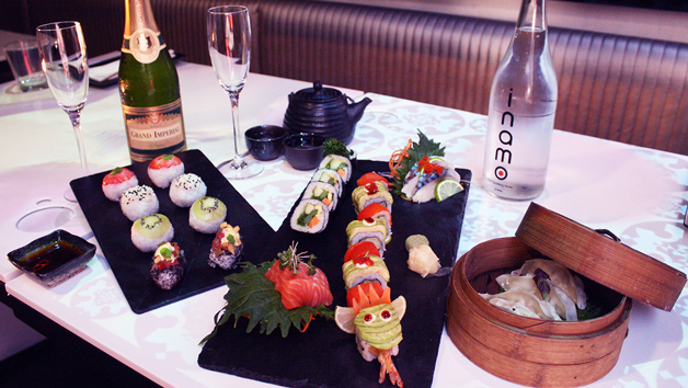 Sushi Afternoon Tea with Fizz for Two at Inamo