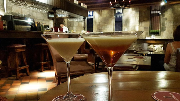 Cocktails and Canapes at Blackfriars Restaurant for Two