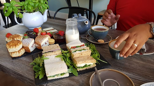 Bottomless Afternoon Tea for Two at Pauls Kitchen, Leicester