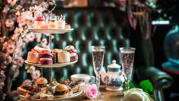 Tapas Style Afternoon Tea with Champagne at MAP Maison for Two