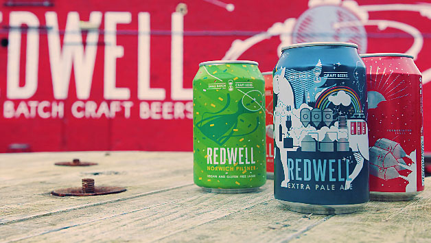 Beer Tasting for Two with a Case of Beer at Redwell Brewing