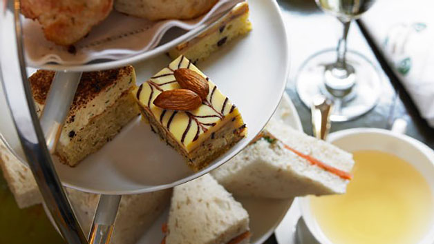 Afternoon Tea with Bottomless Prosecco for Two at Hilton London Westminster