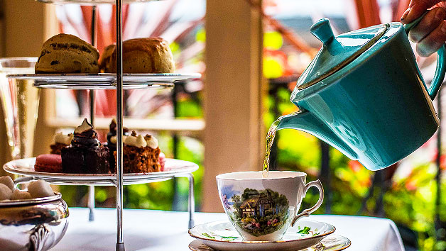 Traditional Afternoon Tea for Two at Palm Court Brasserie