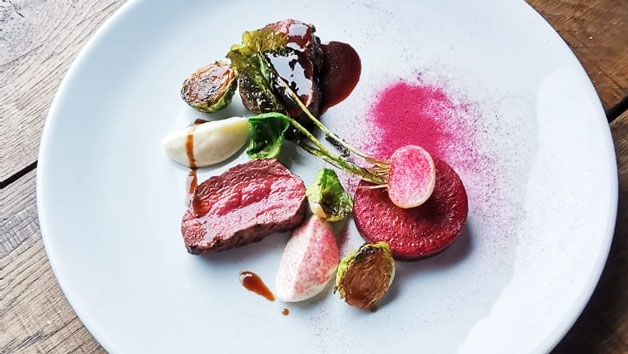 Seven Course Tasting Menu with Wine and Cheese for Two at Kings Arms Fleggburgh