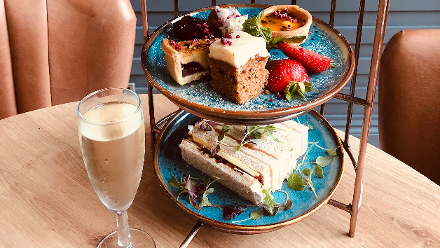 Prosecco Afternoon Tea for Two at De Vere Cotswold Waterpark Hotel