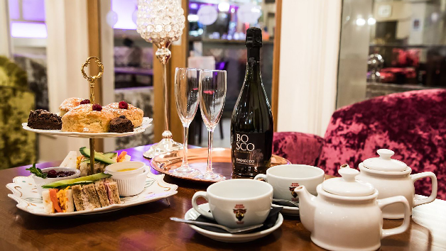 Afternoon Tea with Bottomless Fizz or G&T for Two at Harry's Bar and Cafe
