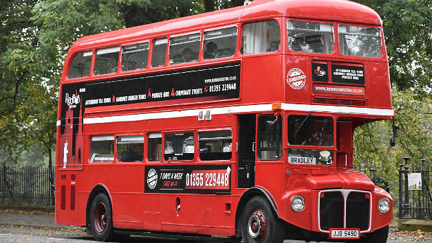 Evening Bus Tour with Dinner and Drinks for Two in Glasgow