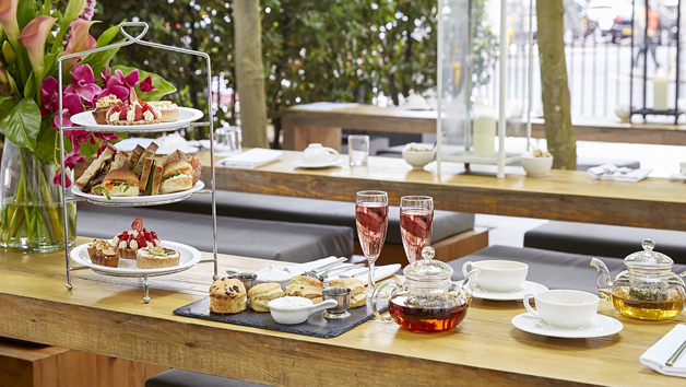 Vegan Afternoon Tea for Two and Bottomless Non-Alcoholic Fizz at La Suite West Hotel