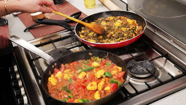 Curry Cookery Course at Chapattis n Curries for Two
