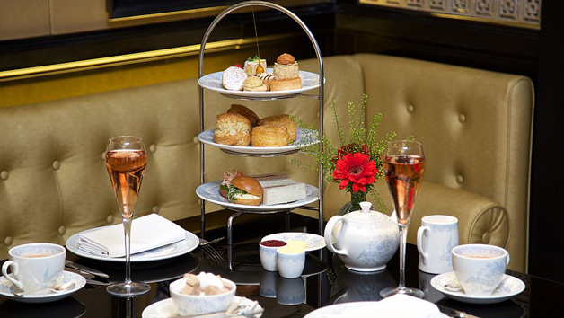 Afternoon Tea and Bottomless Bubbles at St. James Hotel and Club for Two