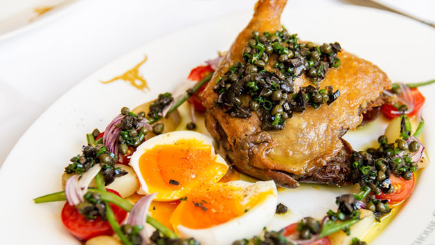 Five Course Meal with an Aperitif at Marco Pierre White London Steakhouse Co for Two