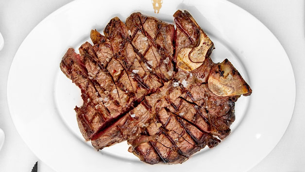 24oz Porterhouse Steak to Share and Unlimited Fries with Cocktails for Two at London Steakhouse Co