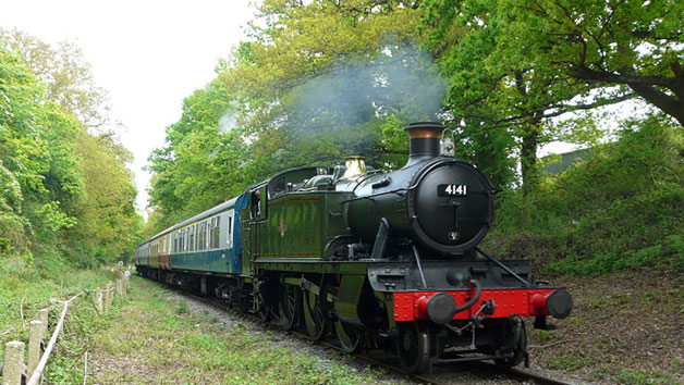 Chigwell Tours Self-Guided Vintage Steam Train and Bus Tour for Two
