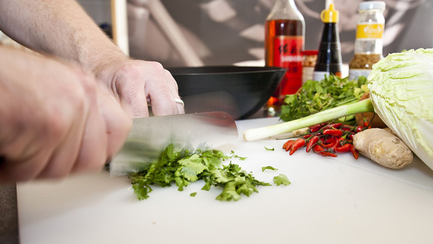 Three Hour Private Asian Cookery Class at School of Wok for Five