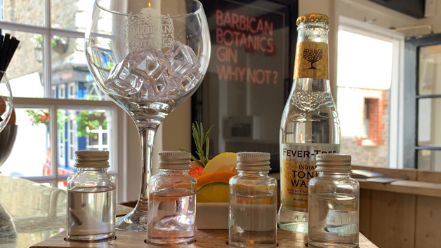 Self Guided Gin Flight at The Barbican Botanics Gin Room for Two