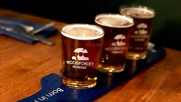Woodforde's Brewery Tour for Two with a Case of 12 Craft Beers