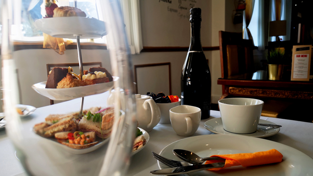 Afternoon Tea with a Bottle of Prosecco at The Ladbrooke Hotel for Two